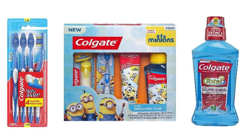 Enjuague bucal colgate