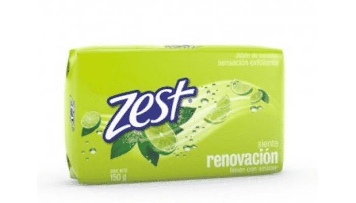 Ingredientes y propiedades del Jabón Zest