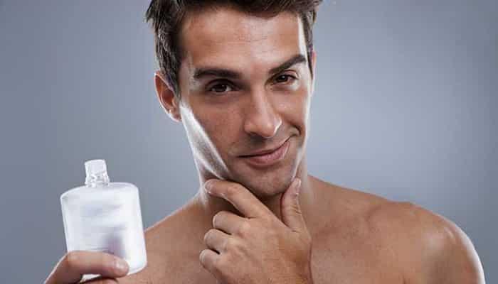 Loción para después del afeitado