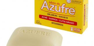 Beneficios del Jabón de azufre