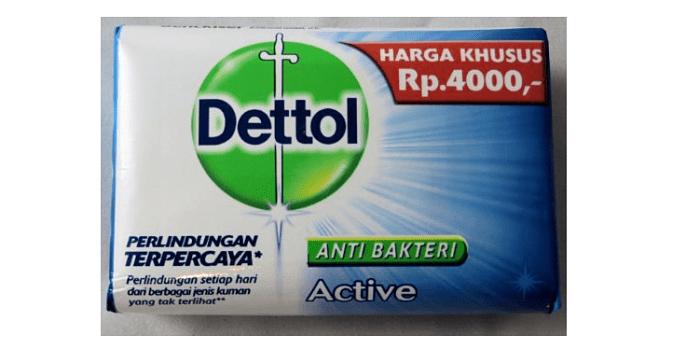 Jabón antibacteriano