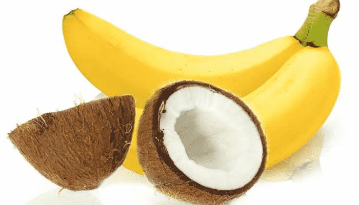 Mascarilla capilar con aceite de banana y coco