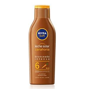leches bronceadoras